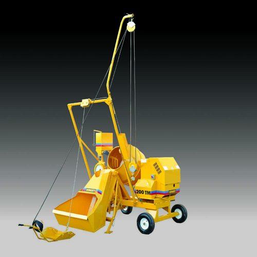Winget 200 TM Mechanically Fed Mixers