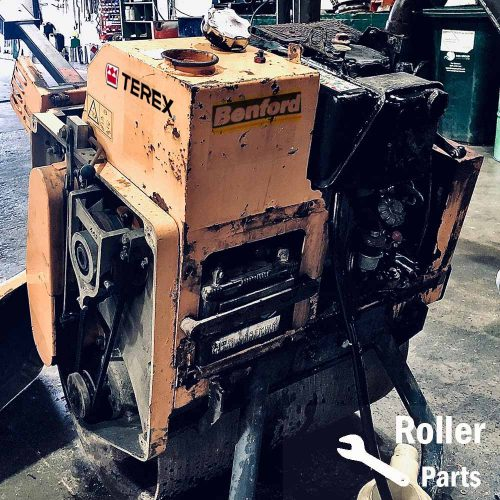 Benford / Terex / Mecalac single drum roller