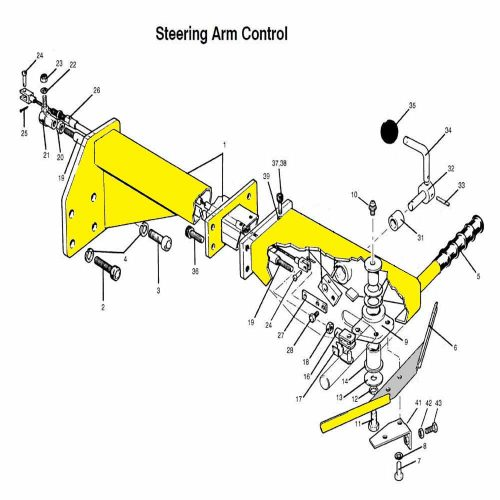Steering arm control