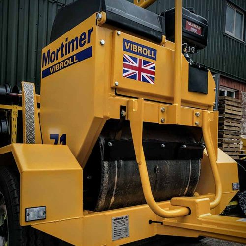 Mortimer-Vibroll single drum rollers