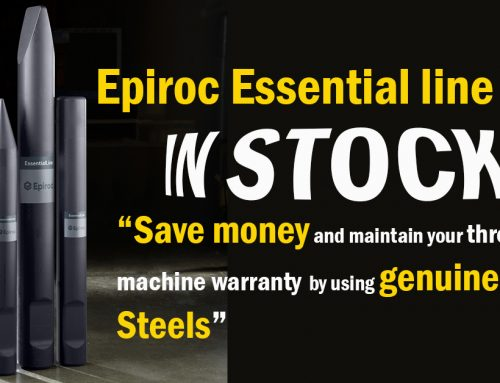 Epiroc SB hydraulic hammer tool, aren't they all the same?