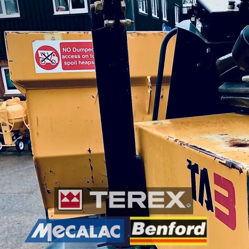 Terex/Mecalac/Benford dumper parts