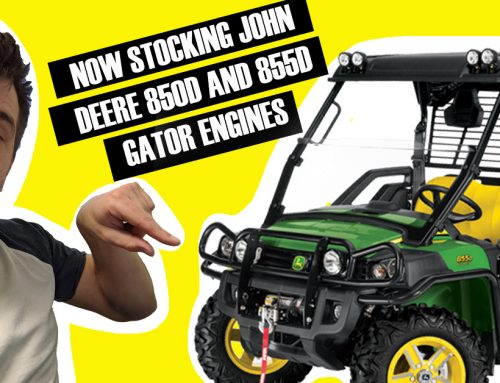 Engines in stock for John Deere Gators!!