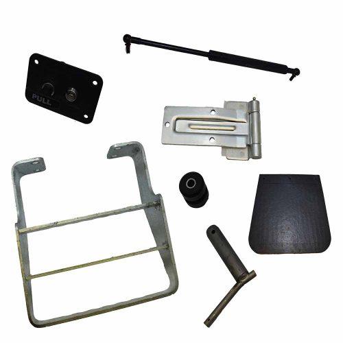 Thwaites dumper chassis-locks-struts