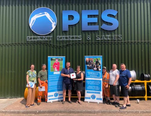 PES purchase De-fib from The Oliver King Foundation