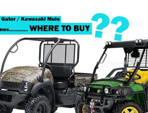 Where to buy John Deere Gator and Kawasaki Mule diesel engines??